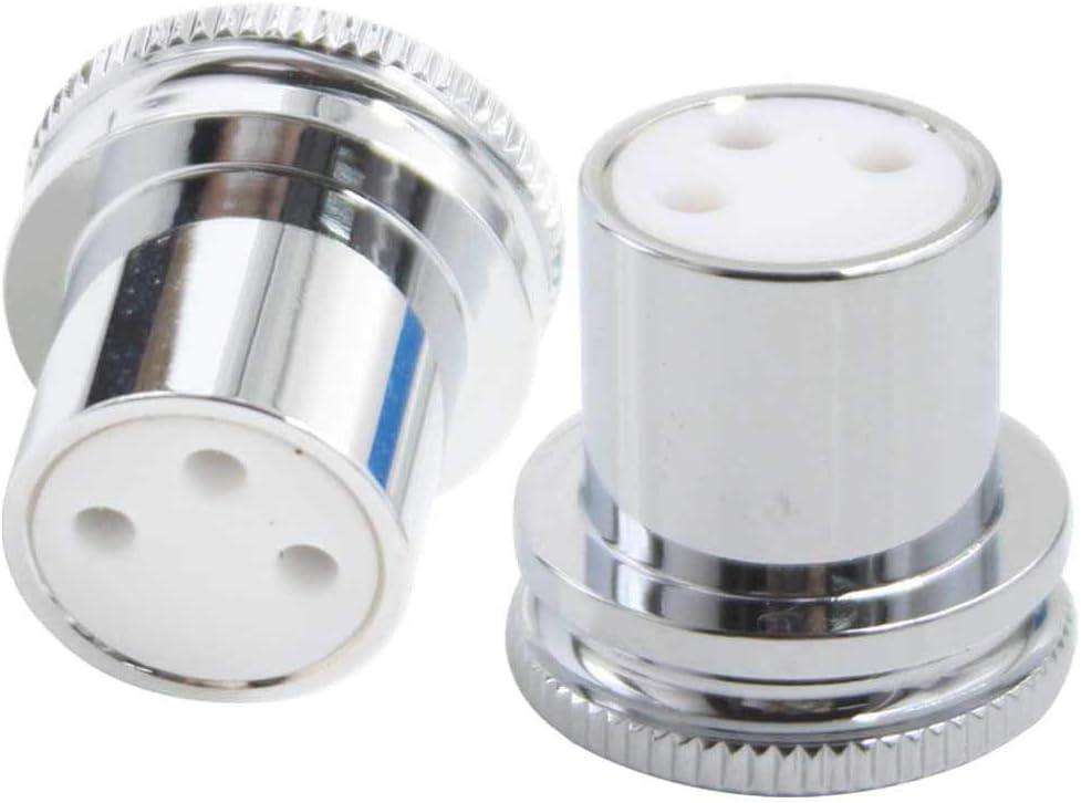 Nickel plated female Pro XLR plug