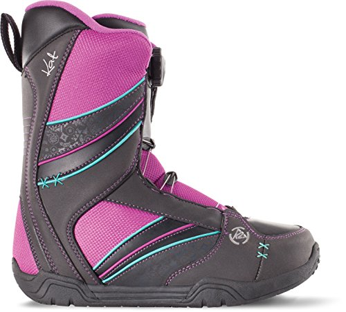 K2 Kat Snowboard Boot 2015, Black, 6 by K2