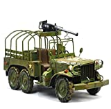 GL&G Retro Iron art military vehicle model Home Decorations Cafe bar Photography props metal Crafts High-end gifts Tabletop Scenes Ornaments Collectible Vehicles,401620cm
