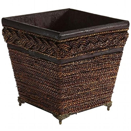 Nearly Natural 0506 Lacquered Coiled Rope Decorative Planter /RM#G4H4E54 E4R46T32519465 Review