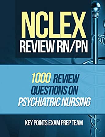 NCLEX Review RN/PN: 1000 Review Questions on Psychiatric Nursing