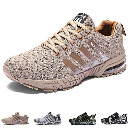new arrival 37cd4 47fac Unisex Sports Shoes Air Cushion Running Trainers Lace-up Sneakers  Breathable Walking Shoes (11