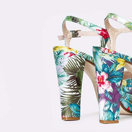Gennia Sandales Sandales Pour Pour Femme Gennia Femme Multicolore wqz4pxTw