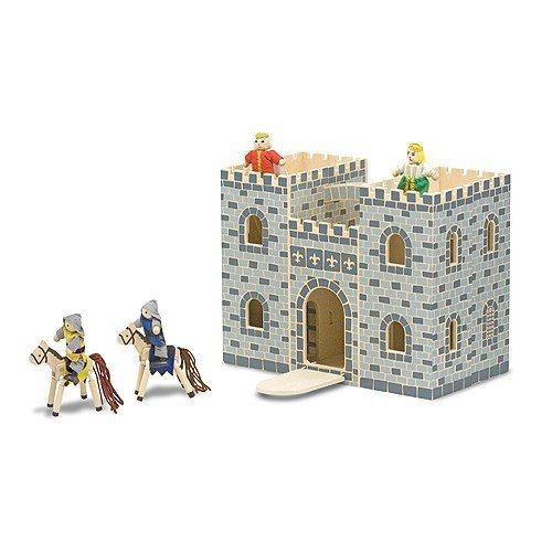 Serra Baby Melissa & Doug Wooden Portable Castle by Serra Baby