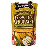 Three Dog Bakery Gracie'S Gourmet Entree Food For Dogs, Chicken/Broccoli/Carrots/Rice, 12-Ounce For Sale