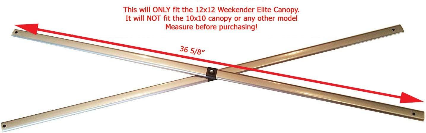 Quik Shade Weekender 144 12×12 36-11 16 Side Truss Bar Replacement Parts