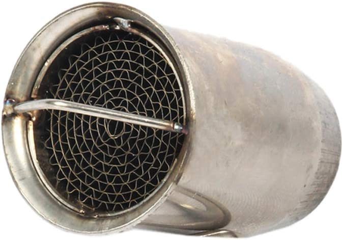 ISTUNT Exhaust DB Killer Silencer Muffler Baffle Noise Eliminator Universal Fit 51mm Motorcycle 5 inch in Length