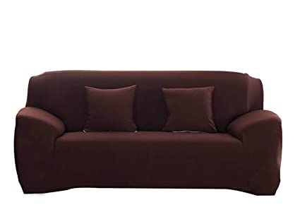 Beau Hotniu Stretch Sofa Slipcover 1 Piece Polyester Spandex Fabric Couch Cover  Fitted Furniture Slipcovers For Loveseat