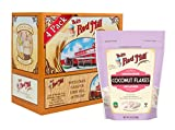 Bob's Red Mill Resealable Unsweetened Coconut Flakes, 10 Oz (4 Pack)