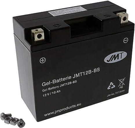 Yuasa YT12B-BS Batterie 12 V 10 Ah pour Yamaha TDM 850 1996//2001