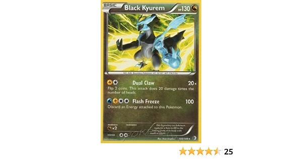 Pokemon Card  BLACK KYUREM EX  Ultra Rare 101//149  Boundaries Crossed ***MINT***