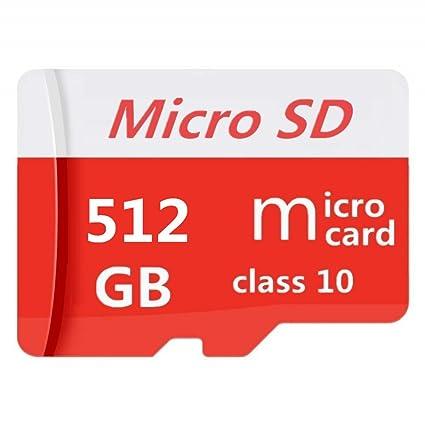 Pondisk - Tarjeta Micro SD (256 GB, Clase 10, Tarjeta Micro SD SDXC, Adaptador) 512 GB