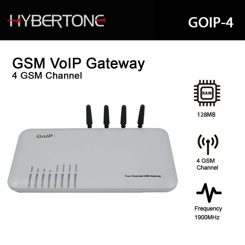 Quad Band GSM 4 Gateway 4 Channel GSM Voip Gateway Goip by Hybertone
