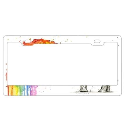Amazon com: Zoomber Rainbow Small Elephant Stainless Steel Metal