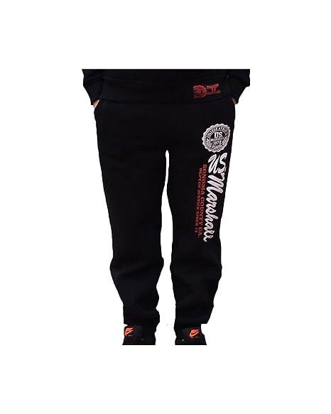 Pantalón de chándal para niño US MARSHALL, color negro Negro negro ...