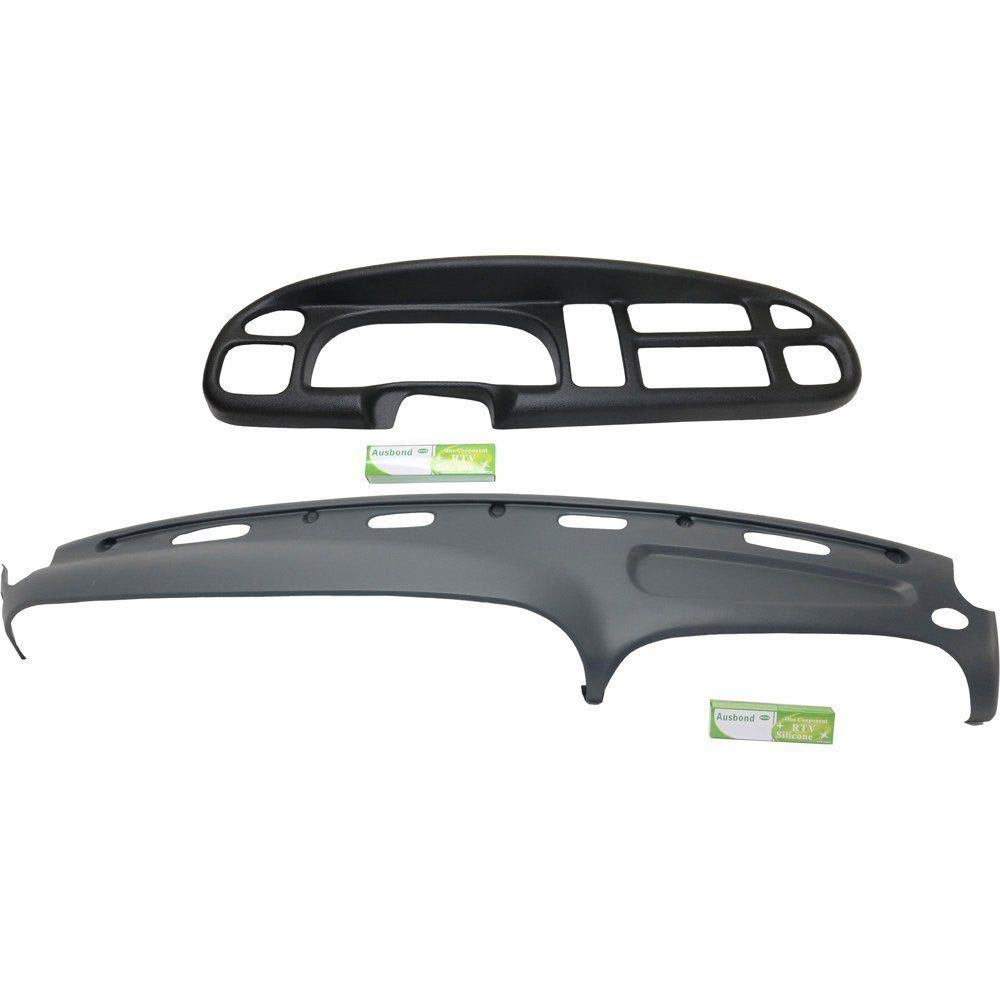 US-Auto New Replacement Kit Dash Cover for 1998-2002 Dodge Ram Truck 1500 2500 3500