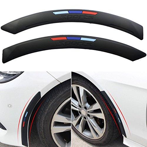 Xotic Tech M Color Sporty Soft Fender Flare Arch Wheel Eyebrow Protector Strip For BMW E30 E36 E39 E46 E60 E61 E70 E82 E90 E91