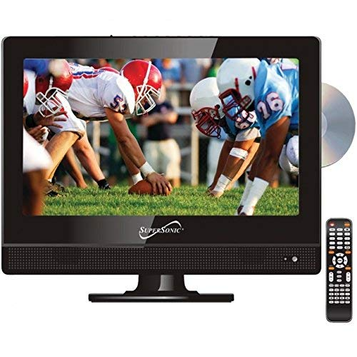 Supersonic 13.3In Led Wide Hdtv Wdvd by Supersonic