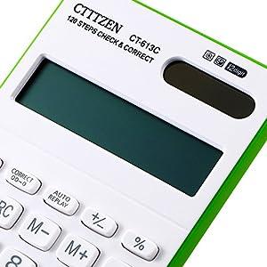 Calculator, Electronic calculator Desktop Calculator ( Include Battery Green)