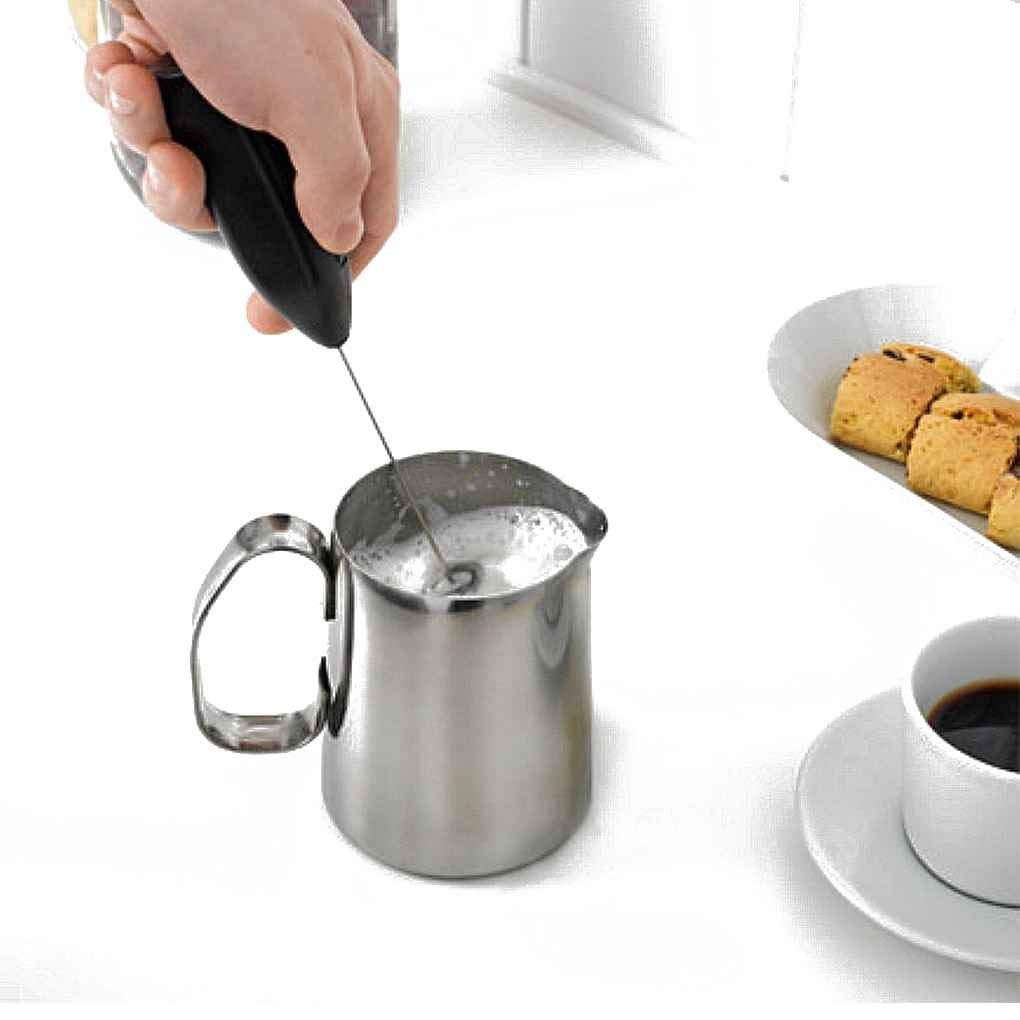 Hot Drinks Milk Coffee Frother Foamer Whisk Mixer Stirrer Electric Mini Egg Beater Random Color Useful and Practical