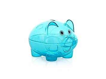 Caja de Dinero Caja de Ahorro de Dinero Hermosa Clara del Banco del Cerdo de Piggy