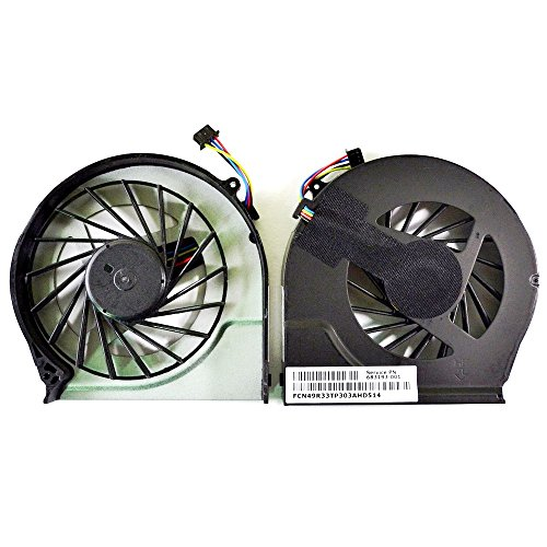 Todiys CPU Fan for HP Pavilion G4-2000 G6-2000 G6-2100 G6-2200 G6-2300 G7-2000 G7-2100 G7-2200 G7-2300 G7Z Series 683193-001 685477-001 ()