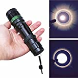 Bolayu 3000 Lumen Zoomable CREE XM-L Q5 LED Super Bright Flashlight Torch Zoom Light