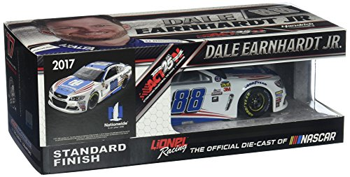 Dale Earnhardt Collectible Cars (Lionel Racing Dale Earnhardt Jr 2017 Nationwide Patriotic Stars and Stripes NASCAR Diecast 1:24 Scale)