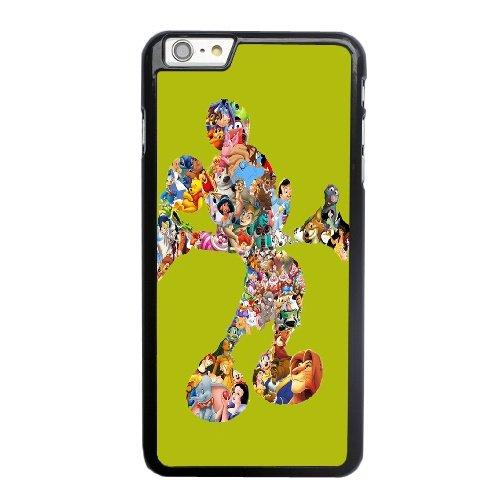Coque,Coque iphone 6 6S 4.7 pouce Case Coque, Minnie Mouse Walt Disney Cover For Coque iphone 6 6S 4.7 pouce Cell Phone Case Cover Noir