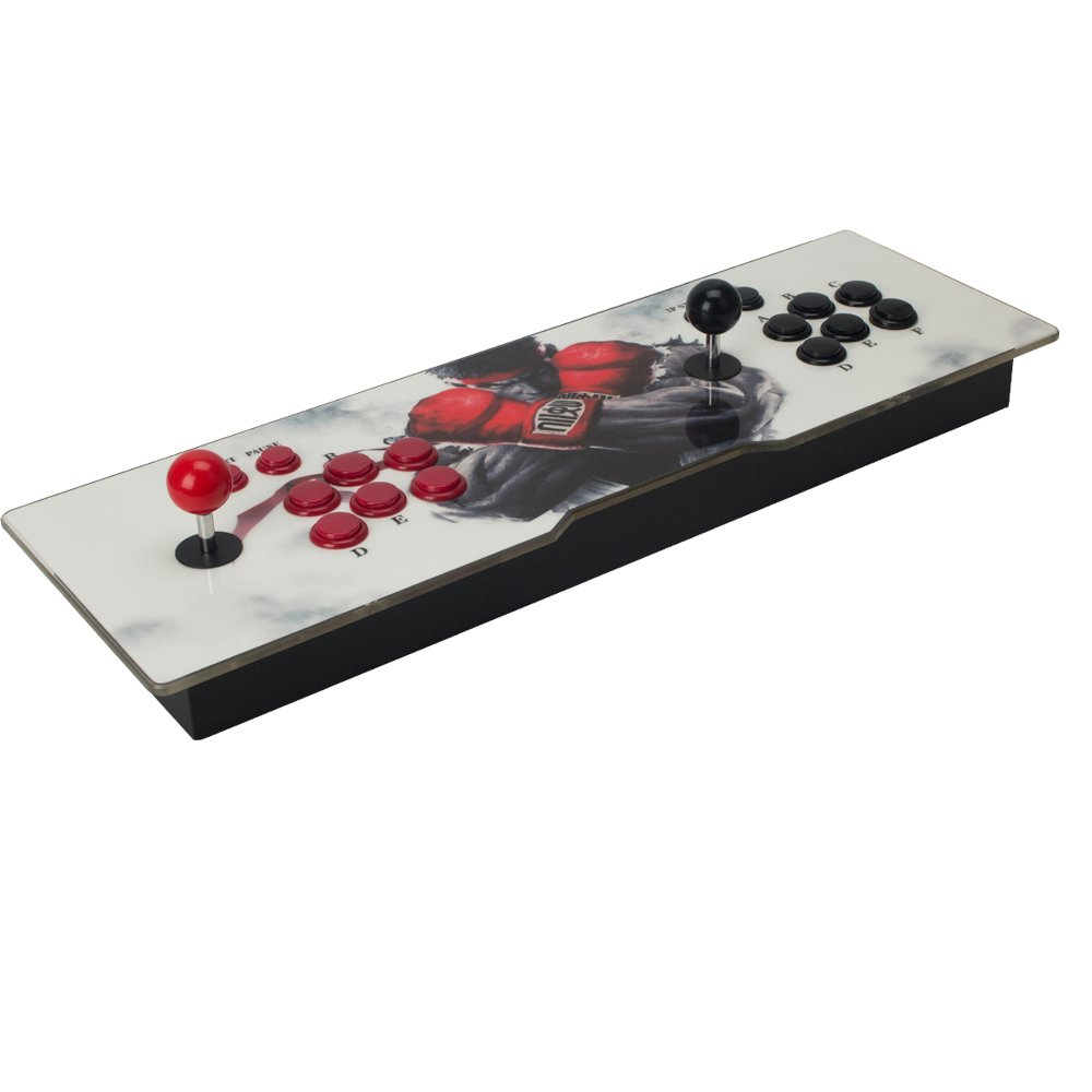 Ultra Slim Metal Double Joystick and Buttons Arcade Game Console 986 Classic Games Machine Pandora's Box 5S by STLY (Image #2)