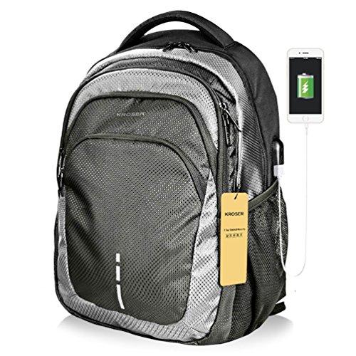 KROSER Laptop Backpack 15.6 Inch Laptop Bag Casual Daypack L