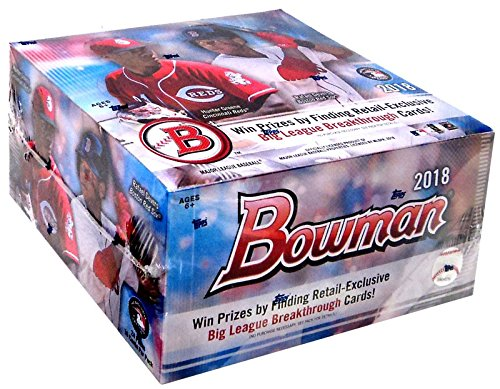MLB 2018 Bowman Baseball Trading Card RETAIL Box from MLB
