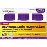 Basic Care Esomeprazole Magnesium Delayed-Release Capsules, 20 mg, 42 Count