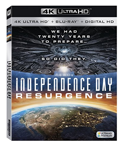 Independence Day Resurgence (4K UHD + Blu-ray + Digital - Day 2 Lead