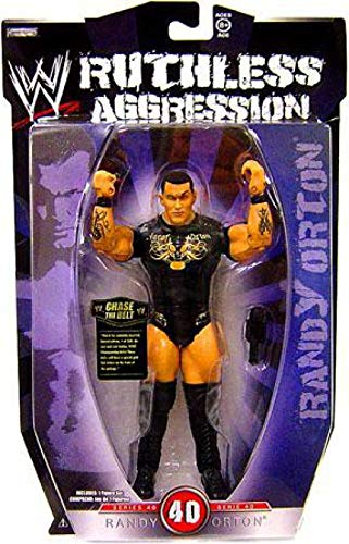 Jakks Pacific WWE Wrestling Ruthless Aggression Series 40 Randy Orton Action - Randy Wrestling Orton