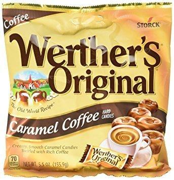 Werther's Original Caramel Coffee Hard Candies 5.5 oz