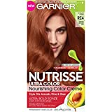 Garnier Nutrisse Ultra Color Nourishing Hair Color Creme, RZ4 Intense Bronze Red, Scarlet Ronze (Packaging May Vary)