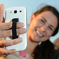 mStick Finger Grip Strap Phone Holder for Mobile Phone iPhone iPad Tablet Handle- Black