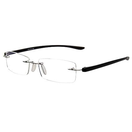 4be9f6ba5 Liansan Designer Rimless Glasses Lightweight Unisex Eyeglasses Men Women Glasses  Frame L5017(black): Amazon.ca: Health & Personal Care