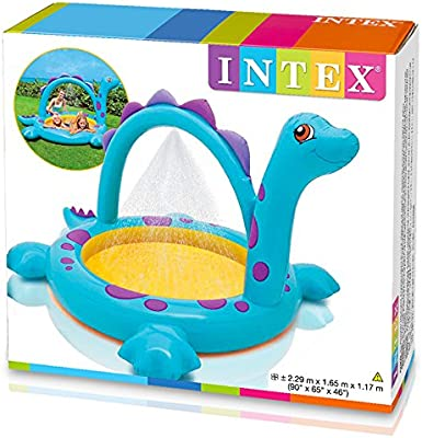 Intex - Piscina Hinchable, 229 x 165 x 117 cm, 170 l, diseño ...