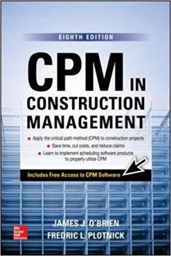 Cpm in construction management eighth edition james j obrien cpm in construction management eighth edition 8th edition fandeluxe Choice Image
