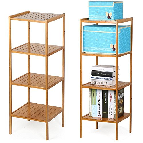 bathroom wall corner shelf unit - 9
