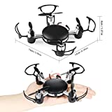 NEXGADGET Quadcopter, Mini RC Quadcopter Drone with HD Camera WIFI FPV Live Video 2.4Ghz 6-Axis Gyro Remote Control UFO Quadcopter Helicopter Good Choice for Drone Training