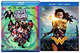 DVD : DCU 2-Movie Bundle - Suicide Squad (DVD + Blu-ray + Digital) & Wonder Woman (DVD + Blu-ray + Digital) 2-Movie Bundle