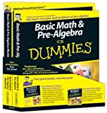 Basic Math and Pre-Algebra for Dummies Education Bundle, Wiley Law Publications Editorial Staff and Mark Zegarelli, 0470537000
