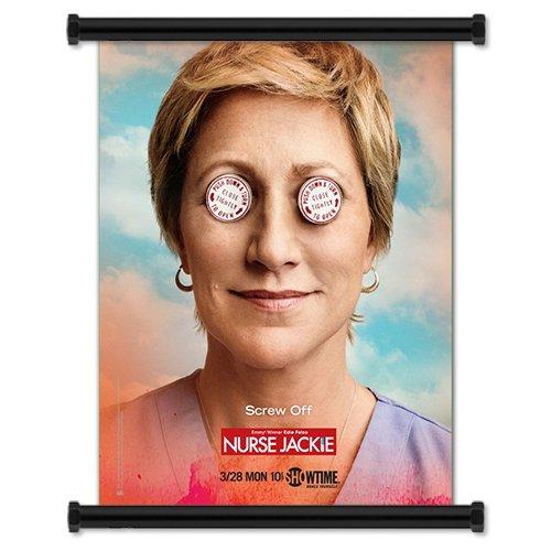 "Nurse Jackie TV Show Season 3 Fabric Wall Scroll Poster (16"" X 21"") Inches"