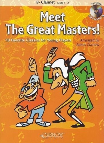 Meet the Great Masters!: Bb Clarinet - Grade 1-2 pdf