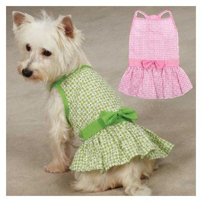 East Side Collection Miss Daisy Dog Dress Color: Pink, Size: -