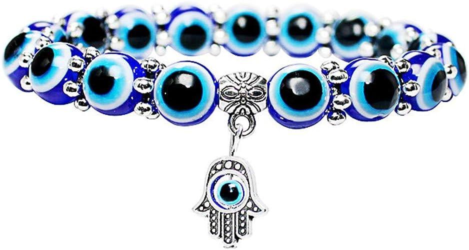 Owl bracelet Friendship bracelet Evil eye bracelet Good luck bracelet Gifts for him and her adjustable bracelet