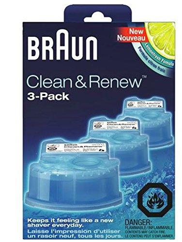 Braun Máquina de afeitar Clean& Renew (3)